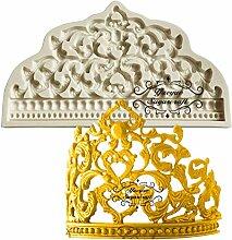 Zonfer Crown-silikon-Form-Fondant-Form-Kuchen, Die