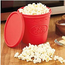 Zonfer Popcorn-Maschine, Mikrowelle Silikon