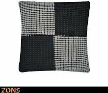Zons Kissen Design Patchwork orange 45x 45cm +