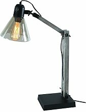 Zons Lampe Stellen Industry + Edison Glühbirne