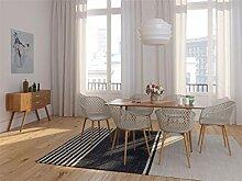 Zons Sessel Stuhl Hat Esszimmer aus Metall mit