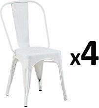 Zons Stühle, Industrie-Design, 35 x 5 x 84 cm,