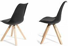 Zons Stuhl Hat Esszimmer skandinavischen schwarz