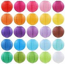 Zonster Neue 5Pcs / Lot (10cm) Dekorative Papier