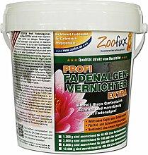 ZOOFUX Profi Fadenalgenvernichter EXTRA 1.200 g für Ihren Gartenteich (Das Qualitätsprodukt direkt vom Hersteller - Schneller Algenvernichter und Algenmittel für Ihren Teich)