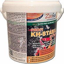 ZOOFUX Profi KH-Stabil EXTRA 1.000 g (Hebt die Karbonathärte auf fischfreundliche Werte im Gartenteich an und beugt somit gefährlichen pH-Wert Schwankungen vor. Der preisgünstige direkt vom Hersteller)