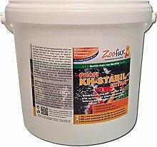 ZOOFUX Profi KH-Stabil EXTRA 6.000 g (GRATIS Lieferung innerhalb Deutschlands - Hebt die Karbonathärte auf fischfreundliche Werte im Gartenteich an und beugt somit gefährlichen pH-Wert Schwankungen vor. Der preisgünstige direkt vom Hersteller)