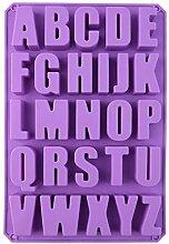 Zoomarlous Silikonform, DIY 26 Englisch Buchstaben