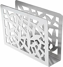 ZOOMY Edelstahl Serviette Rack Box Tissue Holder