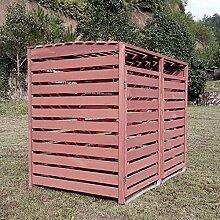 Zoopplier Outdoor Mülltonnenschränke