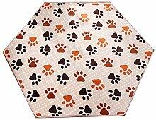 Zorazone Teppich für Kinder Spielhaus