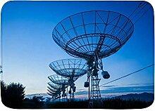 ZORMIEY Badematte Observatorium Abendempfänger