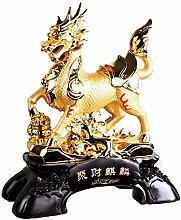 ZOTEE Feng Shui Geld, Dekoration Statue