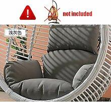 ZOUDIN Hängende Ei hängematte Stuhl Kissen ohne