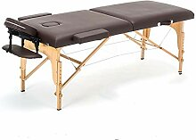 ZOUJUN Massagetisch Tragbare Massageliege Folding