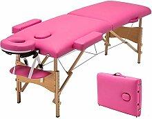 ZOUJUN Tragbare Massageliege Spa Bed