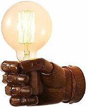 Zozmy Retro Industrial Design Hand Wandlampe,
