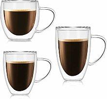 ZPF Große Glasbecher Klare Neuheit Glas Teetasse