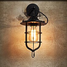 ZPSPZ Wand Lampe Eisen - Cafeteria - Bar Lich