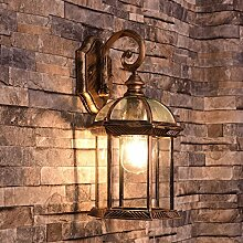 ZPSPZ Wand Lampe Outdoor Wall Lamp Europäische