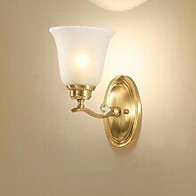 ZPSPZ Wand Lampe Voller Kupfer Amerikanischen