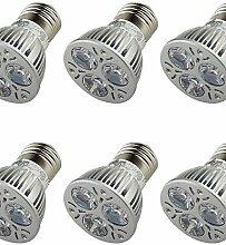 ZQ 3W E26/E27 LED Spot Lampen A50 3 Hochleistungs - LED 250 lm Warmes Weiß Dekorativ AC 85-265 / AC 220-240 / AC 100-240 / AC 110-130 V6