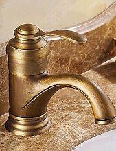ZQ Antike inspiriert Waschbecken Wasserhahn -