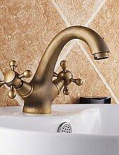 ZQ Antiken inspiriert Waschbecken Wasserhahn