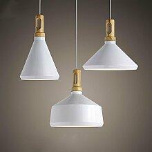 ZQ@QX Moderne Design Dekoration Lampe Schlafzimmer Wohnzimmer Küche Esszimmer Kronleuchter Modernen minimalistischen Stil Kronleuchter , white