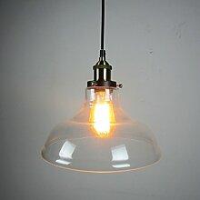 ZQ@QX Modernes Design und klassische Mode Anhänger Lampe Schlafzimmer Wohnzimmer Küche Kronleuchter Kronleuchter aus Glas