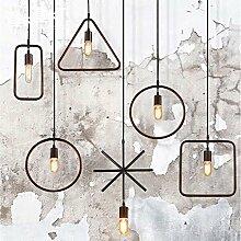ZQ@QX Modernes Design und klassische Mode Anhänger Lampe Schlafzimmer Wohnzimmer Küche Kronleuchter Minimalistische Kronleuchter , 1