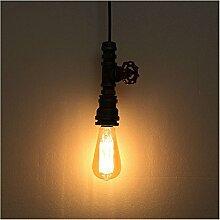 ZQ@QX Modernes Design und klassische Mode Anhänger Lampe Schlafzimmer Wohnzimmer Küche Kronleuchter Rohr-Kronleuchter