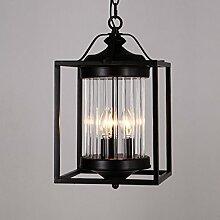 ZQ@QX Modernes Design und klassische Mode Anhänger Lampe Schlafzimmer Wohnzimmer Küche Kronleuchter Minimalistische Kristall-Kronleuchter