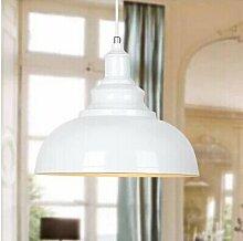 ZQ@QX Modernes Design und klassische Mode Anhänger Lampe Schlafzimmer Wohnzimmer Küche Kronleuchter Eisernen Topf Kronleuchter , bright white