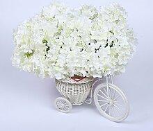 ZQ@QX10 pflanzen Hochzeit Dekoration Simulation Blume, weiß