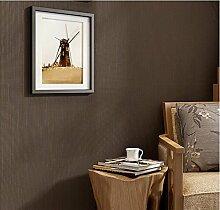 ZQ@QXMinimalistische Mode, Papier, Wohnzimmer, Schlafzimmer, Tapete, Tapeten, 53 * 950 cm, E