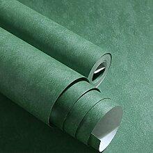 ZQ@QXNon-woven Schlafzimmer, grüne Tapete, Tapeten, 53*1000cm, bunt grün