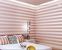 ZQ@QXNon woven Wohnzimmer Hintergrund Tapete Wand 53*1000 cm, Pulver