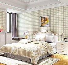 ZQ@QXNon-woven Wohnzimmer, Schlafzimmer, Tapete, Tapeten, 53*1000cm, D