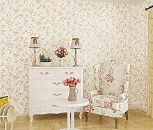 ZQ@QXVliestapeten Tapete 53*1000 cm kleine Suihua Zimmer, gelb