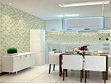 ZQ@QXWasserdicht, selbstklebend, Badezimmer, Küche, Tapete, Tapeten, 45*1000cm, EIN