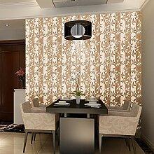 ZQ@QXWohnzimmer Schlafzimmer mit Kunststoff Tapeten, Tapete, 45*1000cm