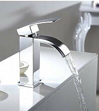 ZQ Single Griff Wasserfall Badezimmer Vanity