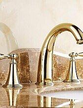 ZQ ti-pvd Finish Classic Brass Bad Wasserhahn