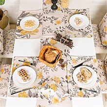 ZQG® Tischläufer Vermischung TV-Schrank Teetisch Tischdecken Fluid Systems Aquarell kleine frische Landschaft Stil Striped Home Textile Tischdecken Leinen Tischdecke C 30*180CM