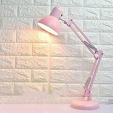 ZQH LED Schreibtischlampe, Dimmbar Klemme an der