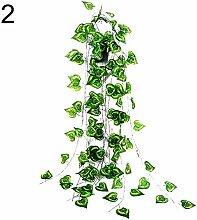 ZqiroLt 1Pc Künstliche Pflanze Blatt Weinstock