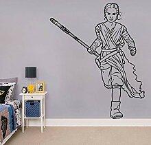 zqyjhkou , Art Decor, The Force Awakens Aufkleber,