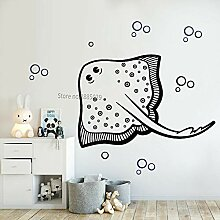 zqyjhkou Big Stingray Decals Kids Schlafzimmer