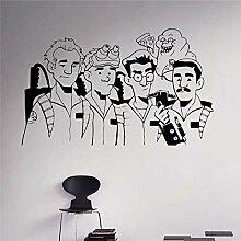zqyjhkou Ghostbusters Wand Vinyl Aufkleber